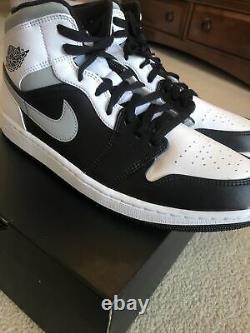 Nike Air Jordan 1 Mid White Shadow size 11.5 SHIPS NOW