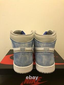 Nike Air Jordan 1 Retro High OG HYPER ROYAL Size 9.5 555088-402 WORN ONCE