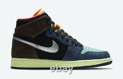 Nike Air Jordan 1 Retro High Shoes Tokyo Bio Hack 555088-201 Men's or GS NEW