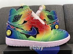 Nike Air Jordan 1 Retro OG High x J Balvin Tie Dye DC3481 900 Size US 9