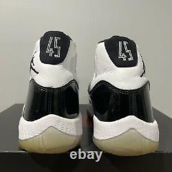 Nike Air Jordan 11 Retro Concord 2018 XI Black White (378037-100) Mens Size 10