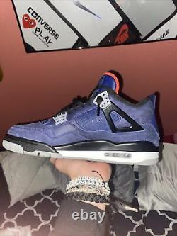 Nike Air Jordan IV 4 Retro WINTERIZED Loyal Blue 10.5 NDS WORN ONCE No og box