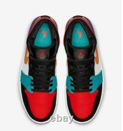 Nike Air Jordan Retro 1 Multicolor What The Mid sHOE SZ 15 554724-125 Exclusive