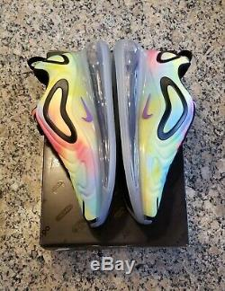 Nike Air Max 720 Tie Dye Multi Color Men's Size 7.5 NEW CK0845-900 Running Shoes
