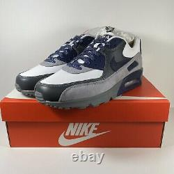 Nike Air Max 90 NRG Lahar Neutral Indigo CI5646 100 Running Shoes Men Multi Size