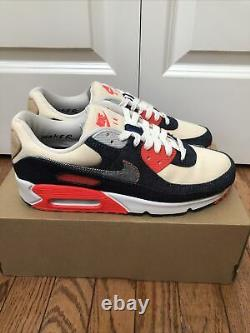 Nike Air Max 90 X Denham, Mens Size 8.5, CU1646 400