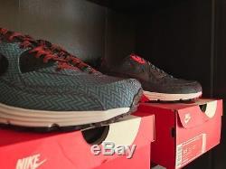 Nike Air Max Lunar 90 PRM QS SUIT & TIE PACK (Herringbone/Paisley) DEADSTOCK