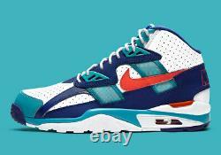 Nike Air Trainer SC High Miami Dolphins CW6023-401 size 8.5 DS NIB Bo Jackson