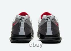 Nike Court Zoom Vapor X Air Max 95 Solar DB6064-100 Roger Federer Tennis 11