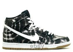 Nike Dunk High Premium Sb Black-white Tie Dye Sz 12 Rare! 313171-023