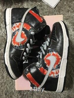 Nike Dunk High Pro SB HUF Size US 8.5 Pink Box Tie Dye Giants Ready To Ship