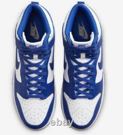 Nike Dunk High Retro Game Royal Kentucky Mens Size 14 Dd1399-102 Ships Now