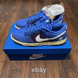 Nike Dunk Low Undefeated 5 On It Dunk vs. AF1 Size 12 Mens In Hand