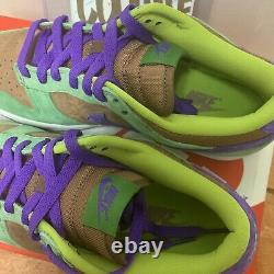 Nike Dunk Low Veneer Ugly Duckling SB DS 2020 Vintage DA1469-200 Mens Size 9