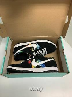 Nike Ishod Wair Dunk Low Sb Tie Dye 2016 Size 10.5 Used 819674-019