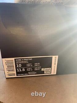 Nike Kobe 5 Protro PJ Tucker PE Size 10 Mens CD4991-004 DEADSTOCK