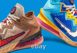 Nike Lebron 18 Low Wile E. Coyote vs Roadrunner Space Jam size 12