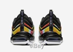 Nike Men's Air Max 97 Tie-Dye Black Multi-Color CK0841-001