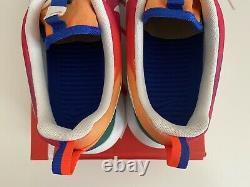 Nike Roshe One Print Run Multicolor Tie Dye Rainbow 655206-518 Size 13