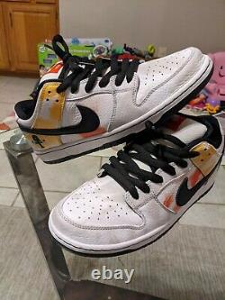 Nike SB Dunk Low RayGun Tie Dye Size 9.5 (Black and White) VNDS
