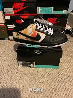 Nike SB Raygun Dunk Low Pro size 12 Tie Dye QS in hand travis scott