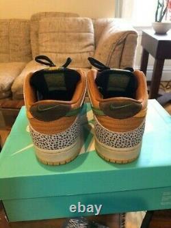 Nike SB Safari Dunk Low Size 11 With Box