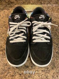 Nike Sb Dunk Low Ishod Wair Mens Size 12 QS Tie Dye Multicolor 819674-019