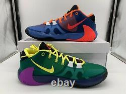 Nike Zoom Freak 1 What The Roots Total Orange Yellow Multi Giannis CT8476-800