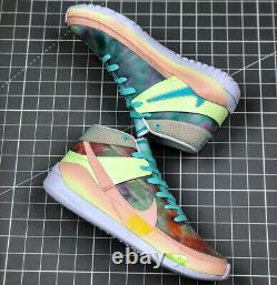 Nike Zoom KD 13 (Mens Size 16) Coral Basketball Shoes Colorful Court Sneakers