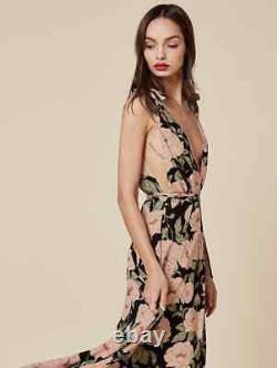 Nwt $428 Reformation Romanica Monarch Floral Maxi Dress Size 2