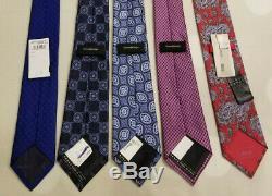 Nwt/nwot $4680 Massive Tie Lotstefano Ricci, Brioni, Zegna Quindici, Ferragamo