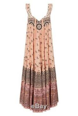 ONE DAY SALE Spell & The Gypsy Lionheart Midi Sundress Sundown M Sun Dress M