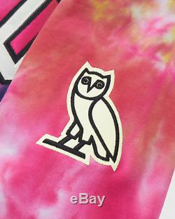 OVO Drake October's Very Own Tie Dye Arch Hoodie MULTICOLOR MED SOLD OUT