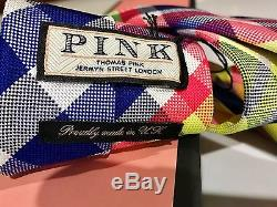 One Of A Kindnwbamazing Auth Thomas Pink Isle Of Sky Tiehot