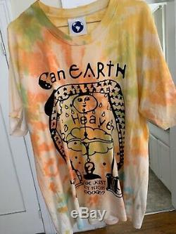 Online Ceramics, T Shirt, Tie Dye, Size L