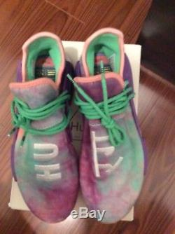 Pharrell Adidas NMD Human Race HU Trail Holi Tie Dye