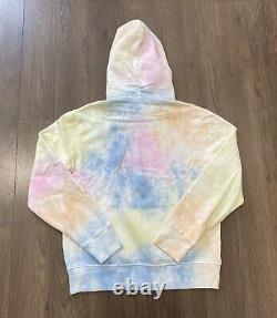 Polo Ralph Lauren Laguna Pastel Tie Dye Fleece Hoodie Sweatshirt Sweater Men XXL