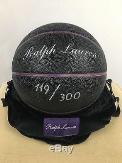 RALPH LAUREN PURPLE LABEL BASKETBALL LIMITED EDITION 119/300 Collectors Dream