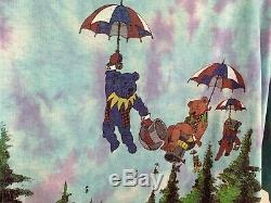 RARE Authentic Vintage Single Stitch 90s Grateful Dead Tie Dye Band T-Shirt 1994