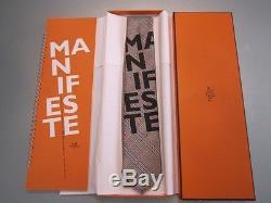 RARE SPECIAL HERMES MANIFESTE MANIFESTO Plaids Tie NEW BOX NIB FRENCH Version