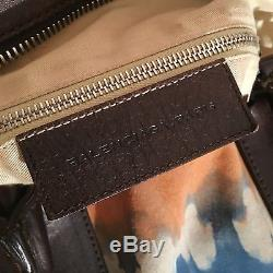 Rare HTF Balenciaga Tie-Dye Suede Weekender Bag Archive S/S Men's 2008 $2500