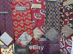 Robert Talbott Ties Lot Multi Color Vintage Neckties Lot 22