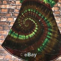 STUNNING LuLaRoe Carly Dress- Custom Tie Dye Size XL, one of a kind