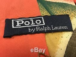 SUPER RARE VINTAGE COLLECTORS Polo Ralph Lauren 1931 MONZA Necktie Hand Made USA