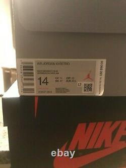 Size 14 US Air Jordan 13 Retro Flint 2020