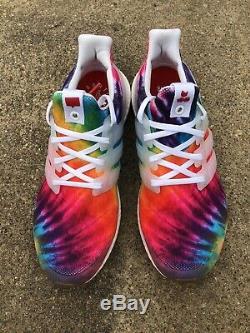 Size 9 Adidas Ultraboost Ultra Boost Nice Kicks Woodstock Tie Dye