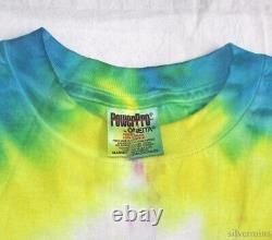 Soundgarden Vintage T Shirt 90's 1996 Tour Concert Tie Dye Seattle Grunge Rock