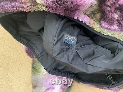 Stussy New Reversible Micro Fleece Tie Dye Jacket Medium