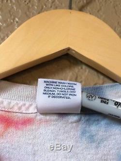 Supreme Tie Dye Satan Tee Shirt Vintage Size M SS07