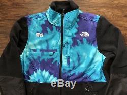 The North Face Denali Fleece Jacket x SNS Sneakersnstuff Tie Dye Large Blue